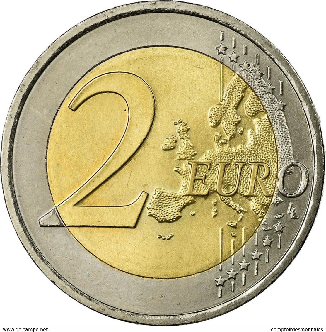 Autriche, 2 Euro, Traité De Rome 50 Ans, 2007, SUP, Bi-Metallic, KM:3150 - Autriche