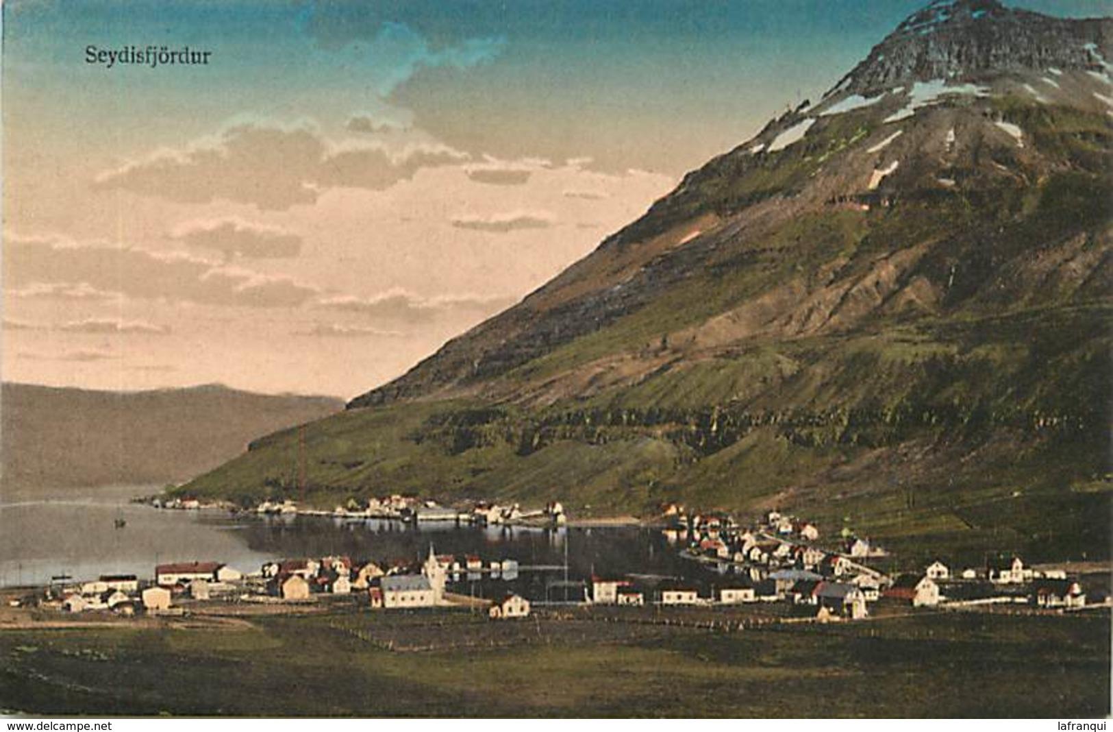 Pays Div- Ref T882- Islande- Island -  Seydisfjordur  - - IJsland
