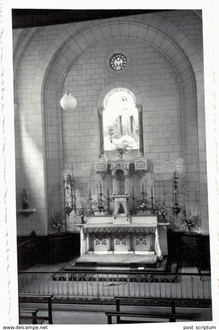 Photo - Intérieur D'église 1 (Vosges ? Fraize ?) - Lieux
