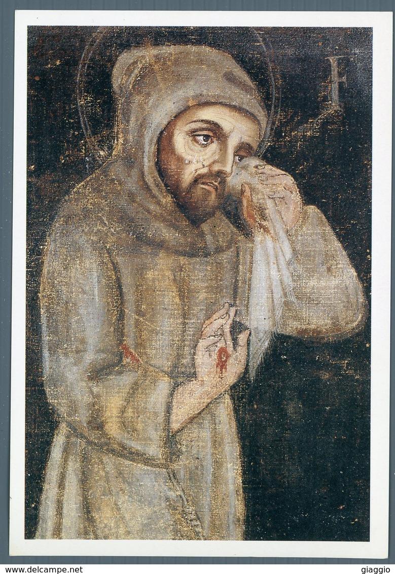 °°° Cartolina N.7 Santuario Francescano Del Presepio Greccio Nuova °°° - Rieti