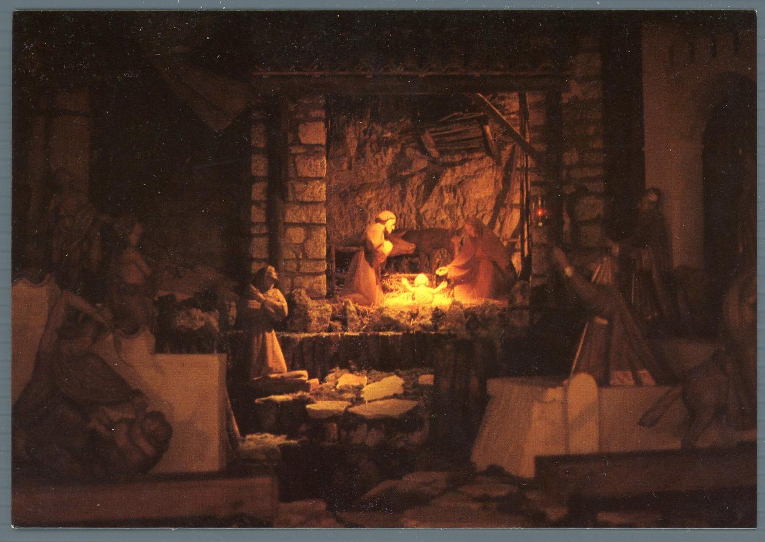 °°° Cartolina N.11 Santuario Francescano Del Presepio Greccio Nuova °°° - Rieti