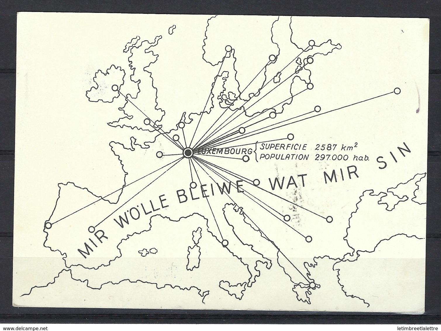 """Carte Commémorative Du Courrier Aérien Spécial """" Esch - Londres """" En 1939, Affranchissement Mixte - Airmail"""