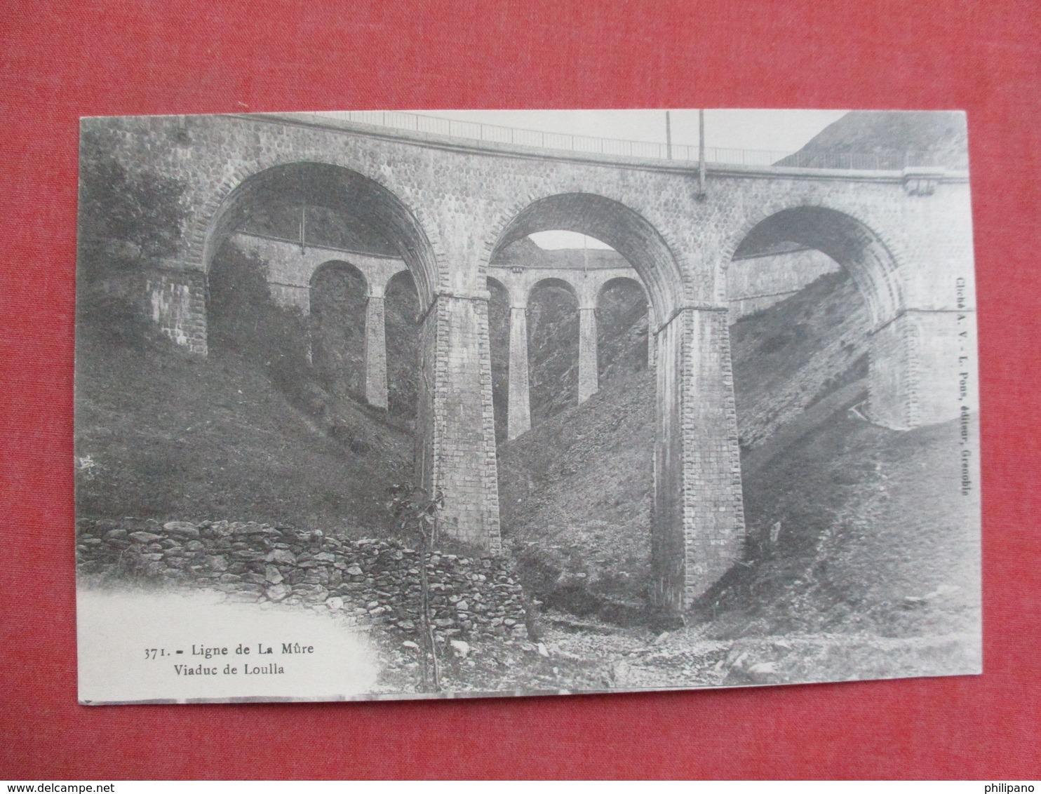 - Ligne De La Mure - Les Viaduc De Loulla    Ref 3417 - Other Municipalities