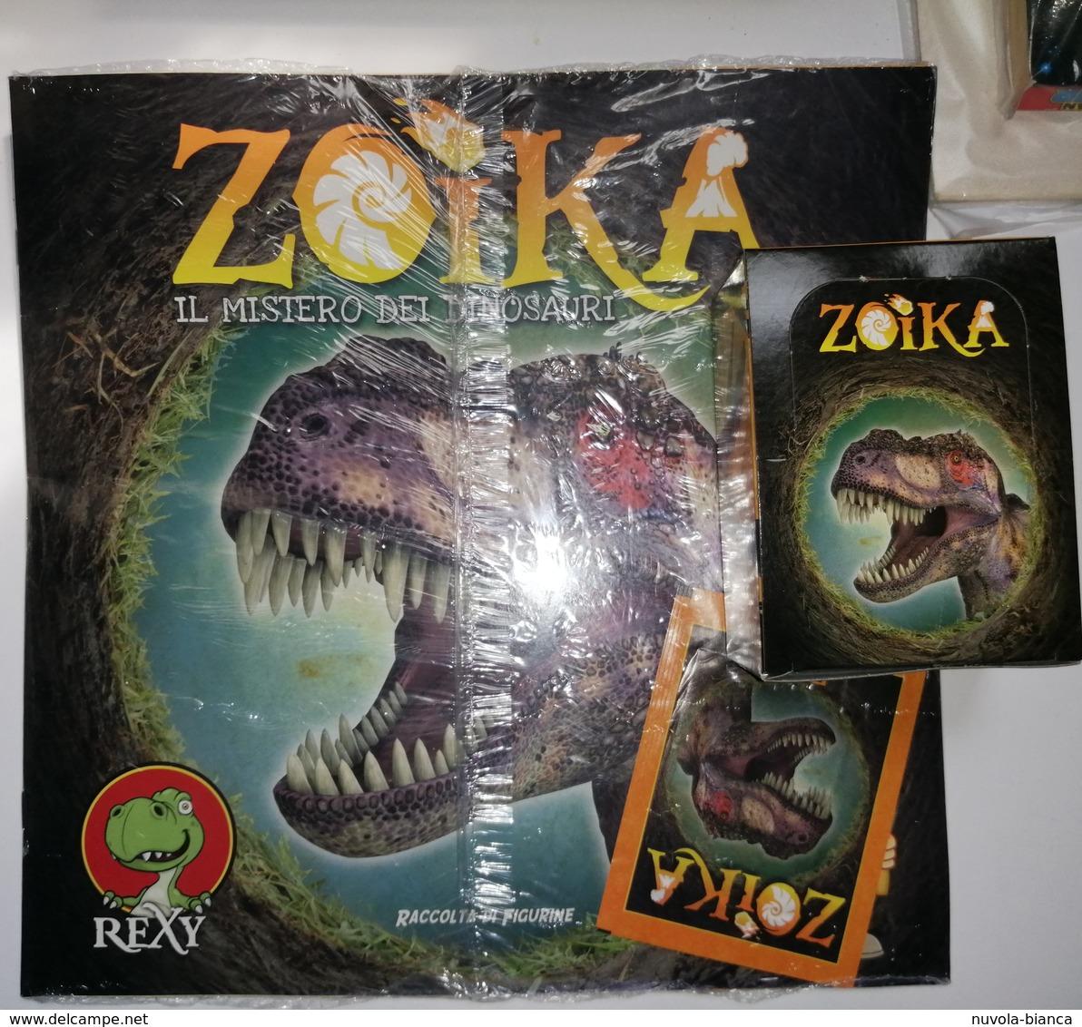 Zoika Il Mistero Dei Dinosauri Album Vuito+box 50 Bustine FOL. Bo Del 2015 - Other