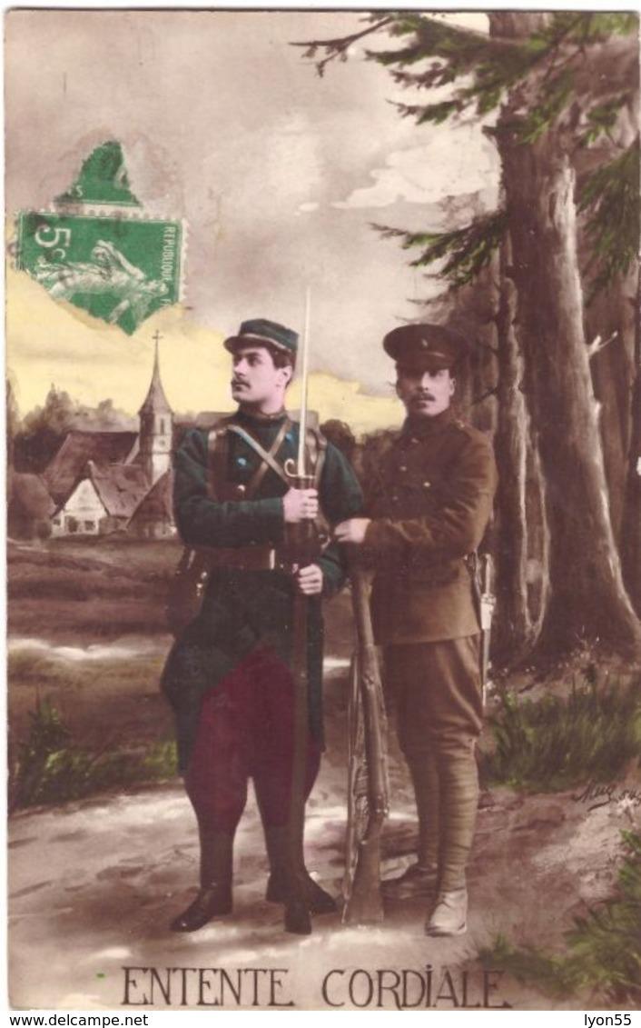 Entente Cordiale - Oorlog 1914-18
