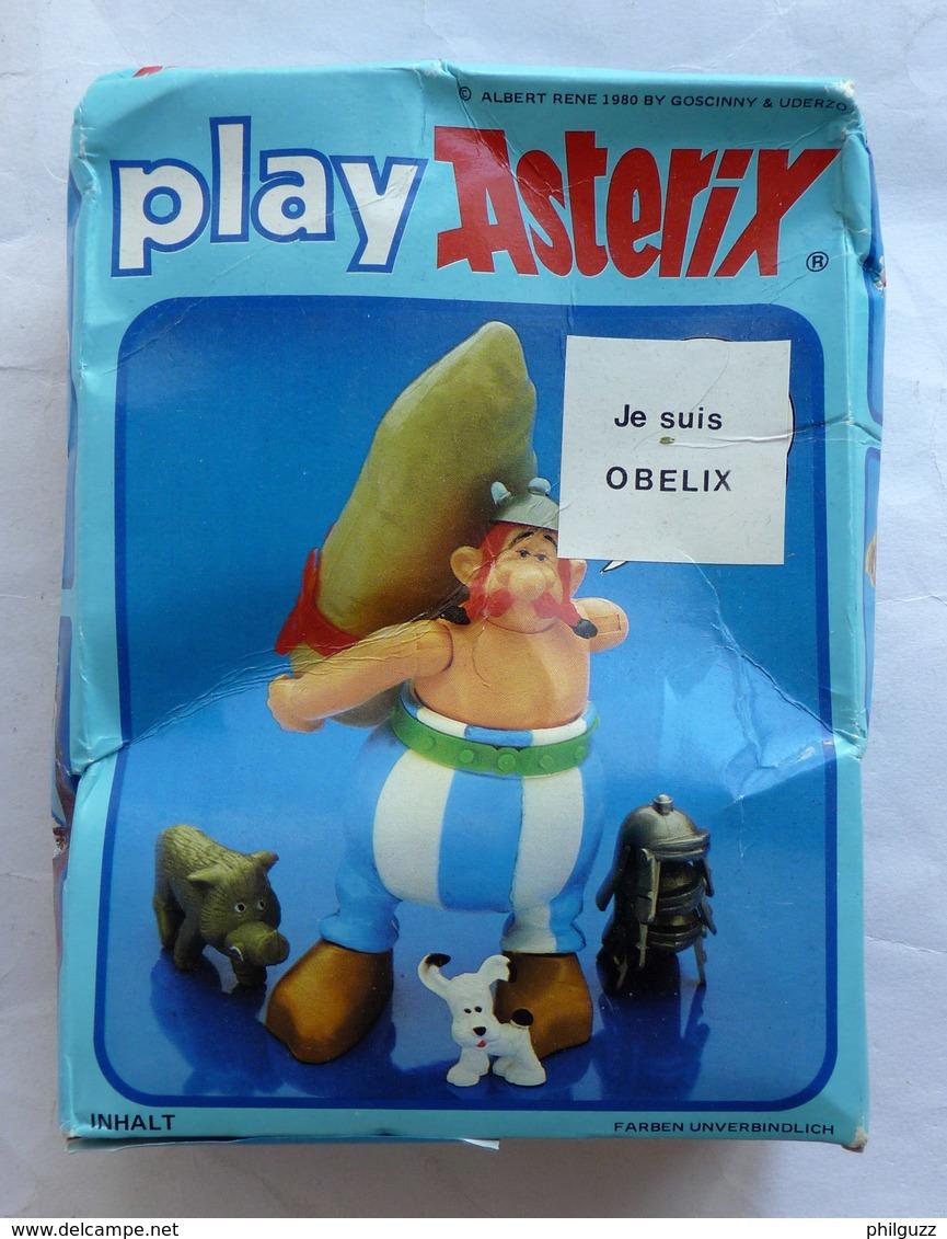 BOITE PLAY ASTERIX TOY CLOUD CEJI 6201 OBELIX (2) - Asterix & Obelix