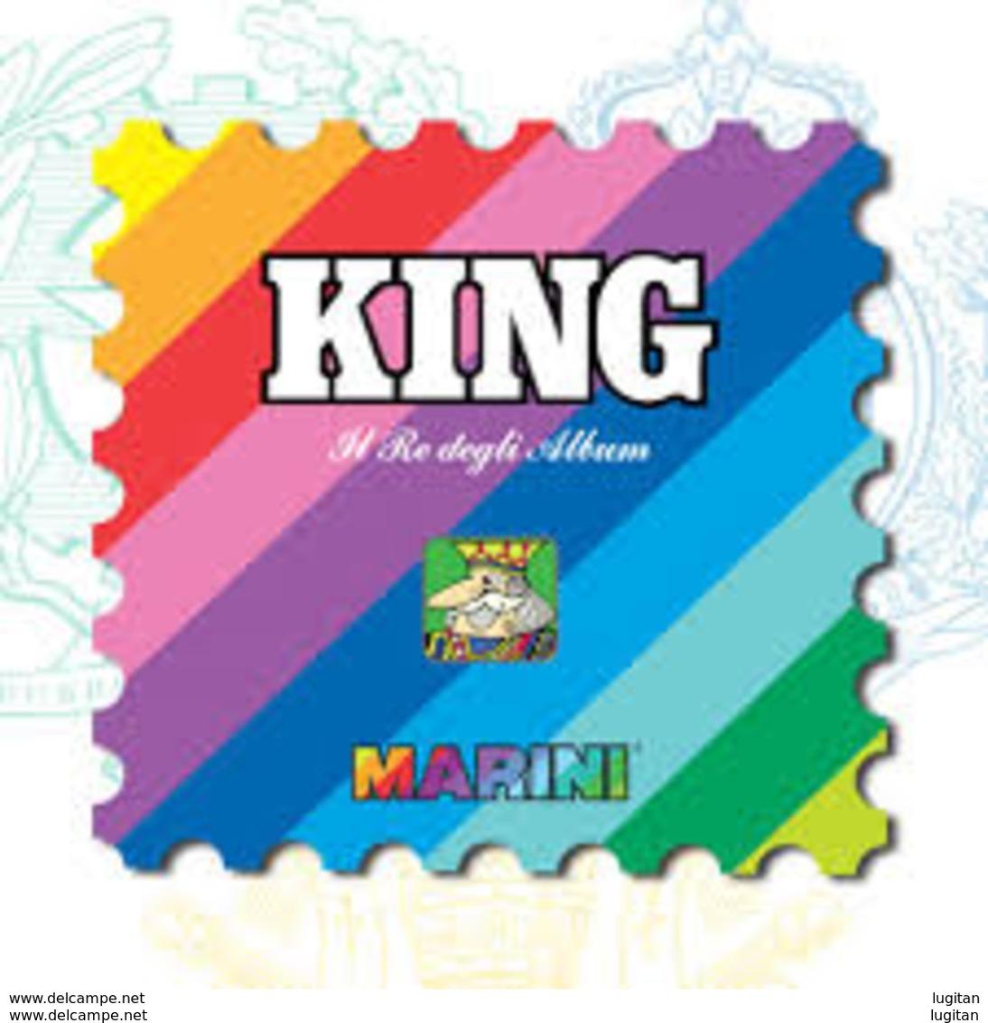 LOTTO - MARINI KING SPAGNA DAL 1975 AL 1992 CIRCA 110 FOGLI - NUOVI D'OCCASIONE - Kisten Für Briefmarken