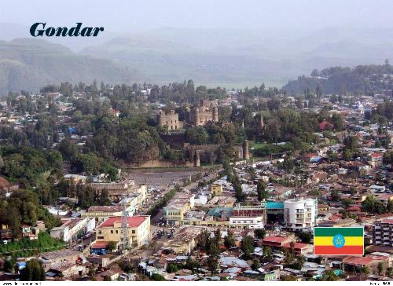 AK Äthiopien Ethiopia Gondar Aerial View UNESCO New Postcard - Ethiopia
