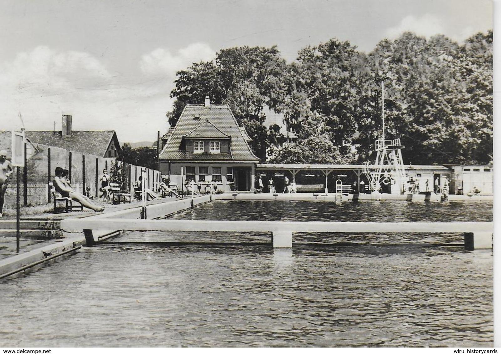 AK 0257  Schmalkalden ( Näherstille ) - Schwimmbad / Ostalgie , DDR Um 1969 - Schmalkalden