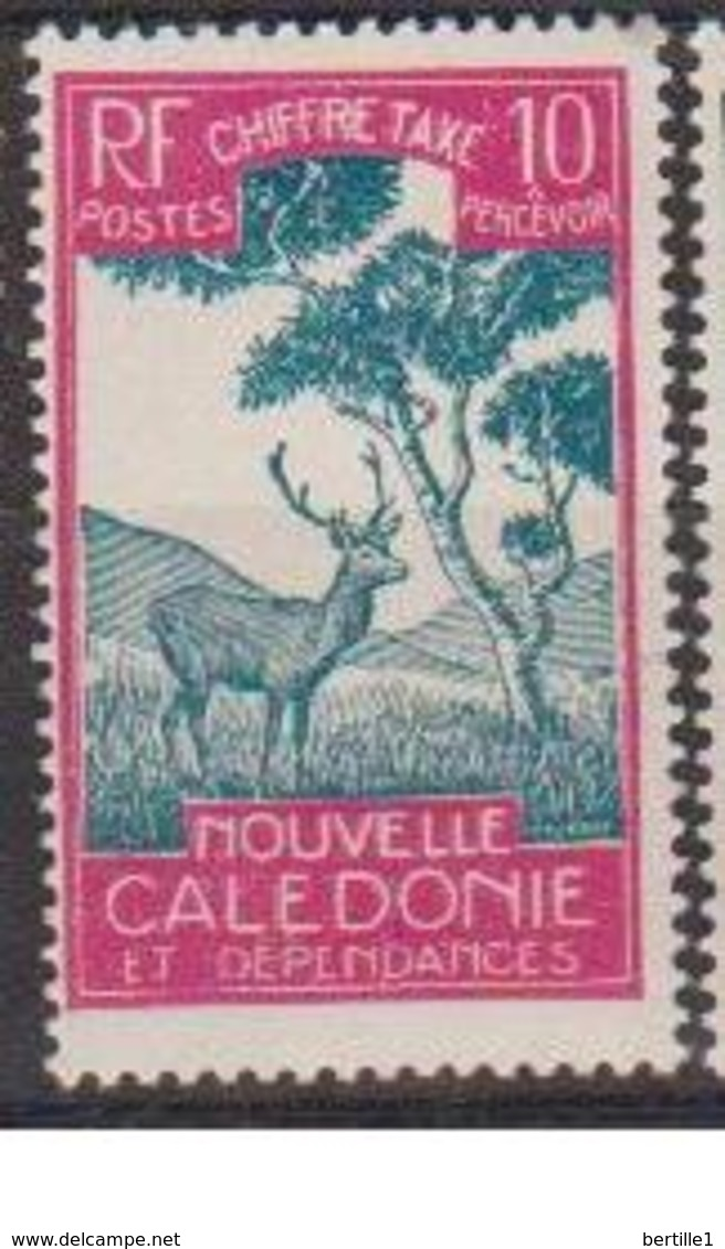 NOUVELLE CALEDONIE          N° YVERT  TAXE 29   NEUF SANS GOMME     (  SG   01/28 ) - Impuestos