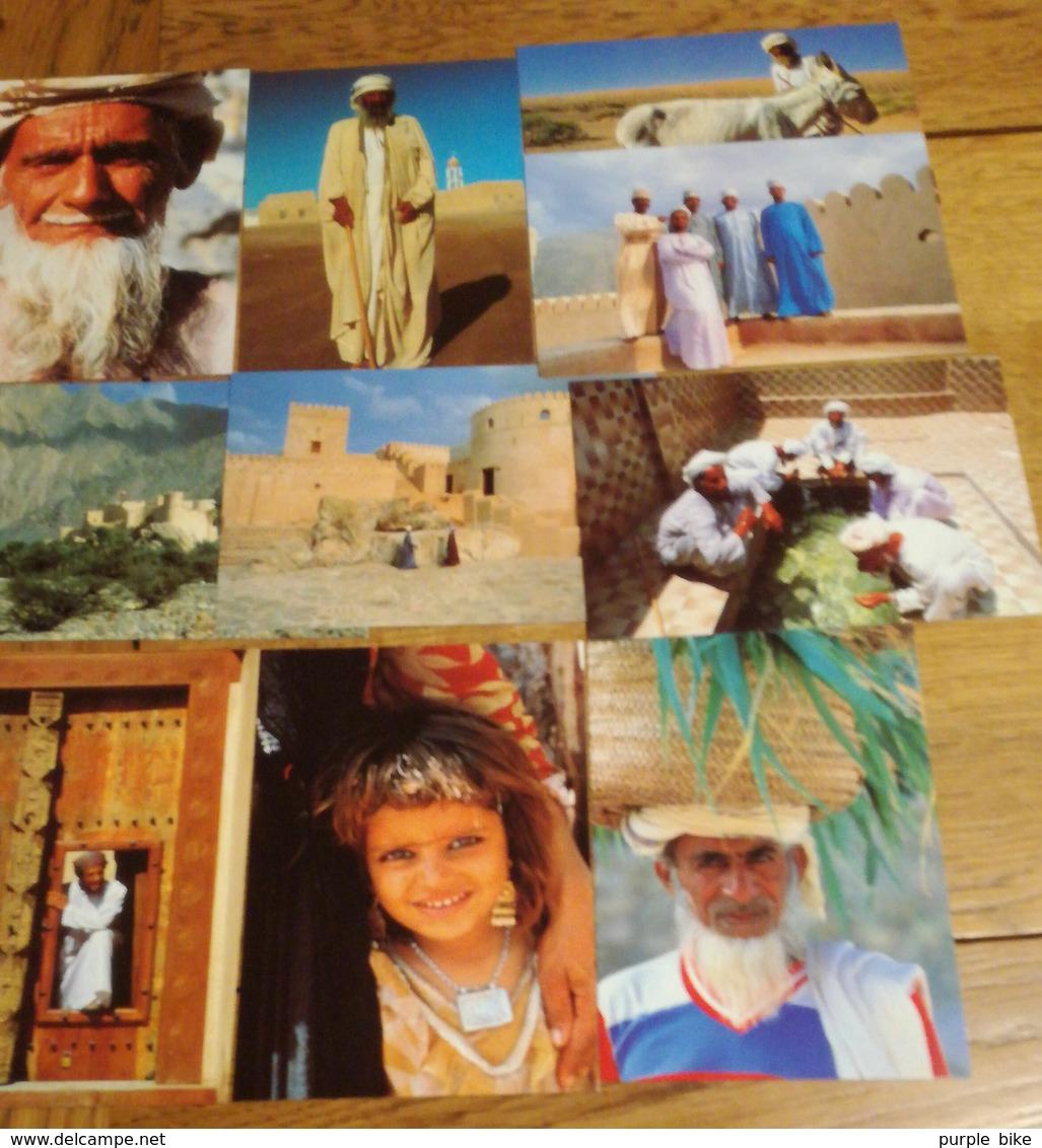 OMAN Série De 10 Cartes Postales Des Années 70-80 CPSM/CPM -Non écrites - ARABE D'OMAN Parfaites - Postcards