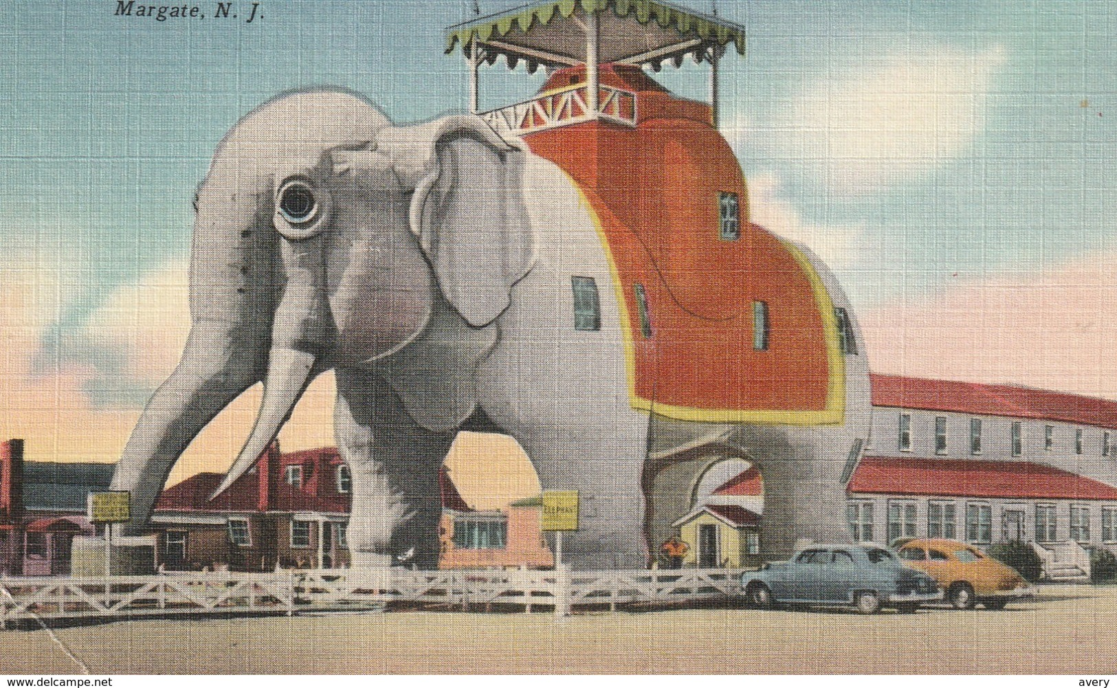 "Elephant Hotel, ""An Old Landmark"", Margate, New Jersey - United States"