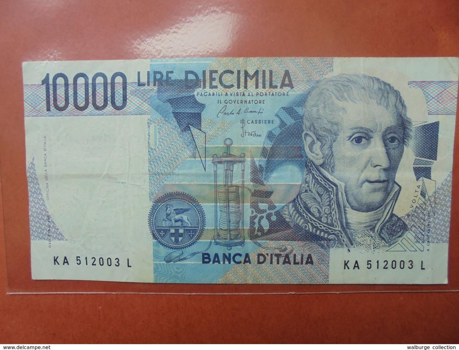 ITALIE 10.000 LIRE 1984 CIRCULER - [ 2] 1946-… : République