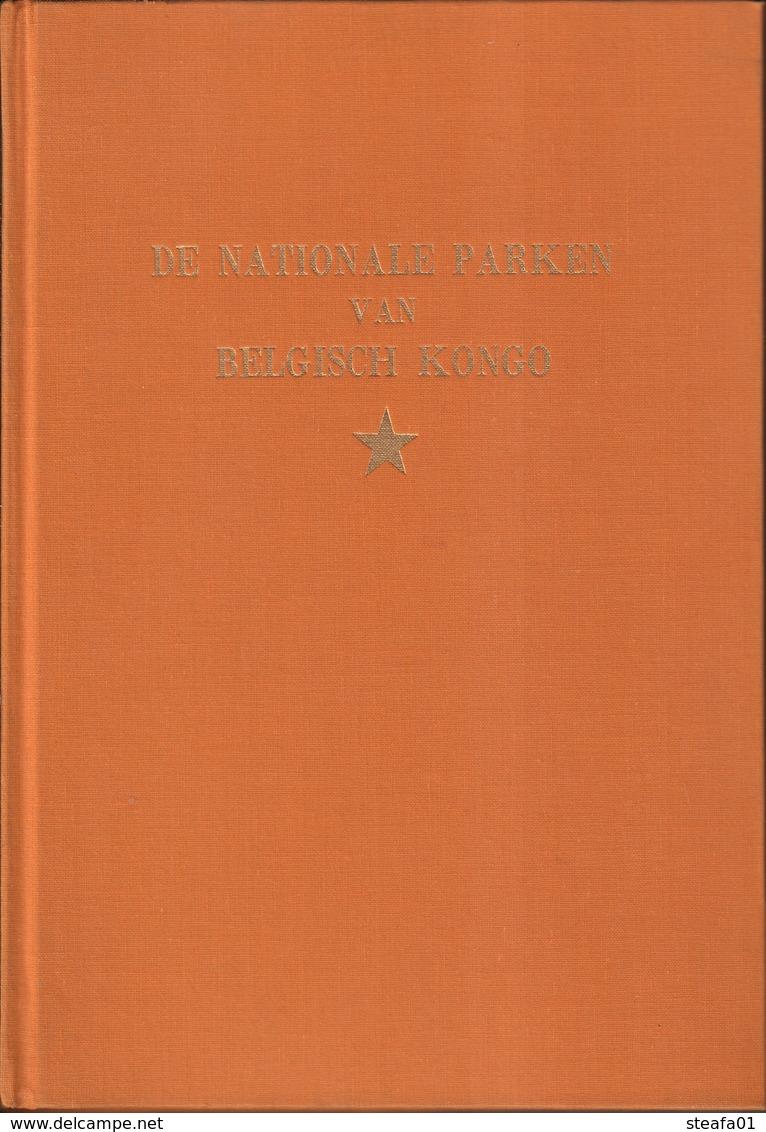 """Belgisch Congo, Congo Belge, Compleet Album """"De Nationale Parken Van Belgisch Congo, 1957, COLLECTORS! - Culture"""