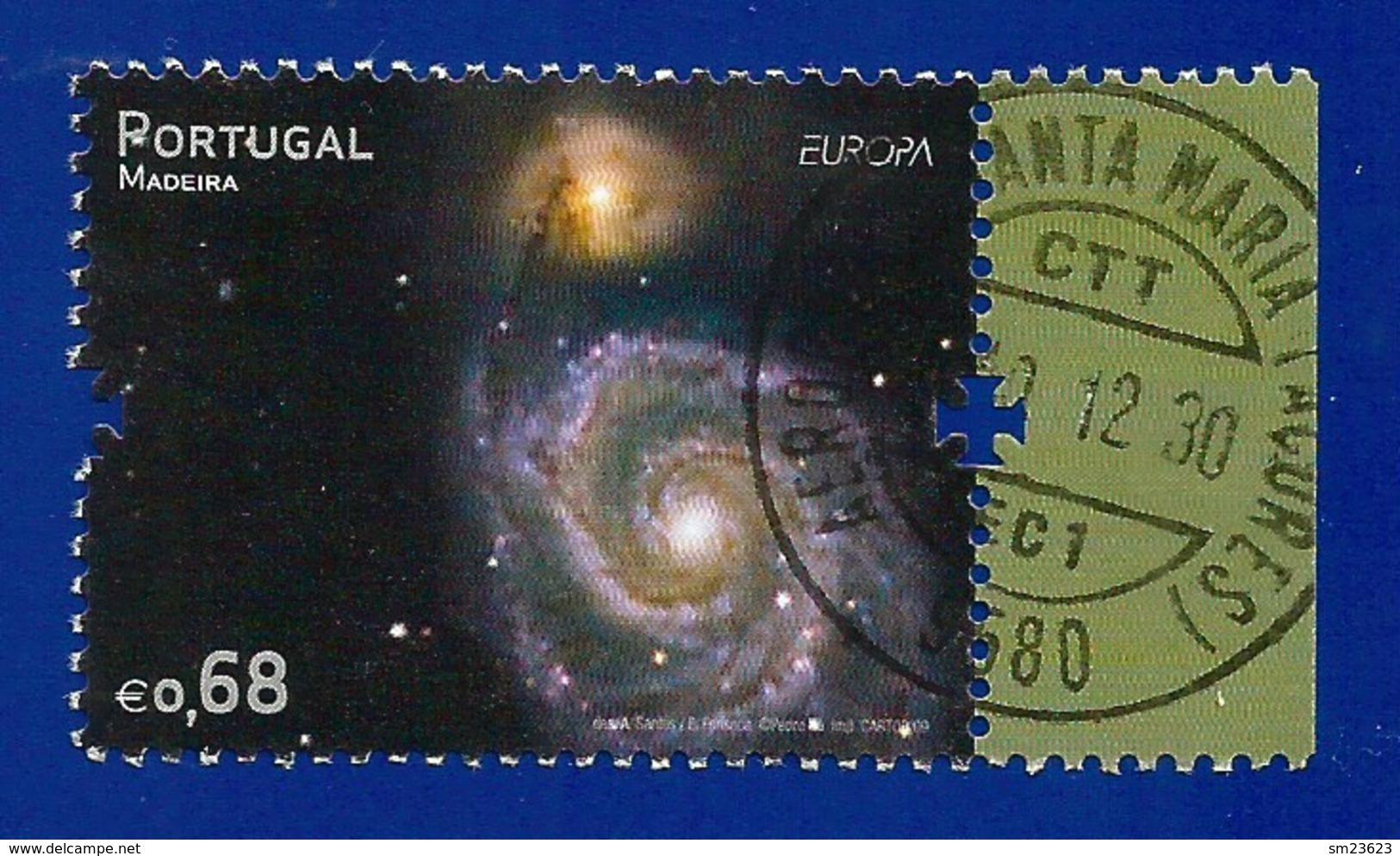Portugal / Madeira  2009  Mi.Nr. 297 , EUROPA CEPT - Astronomie - Gestempelt / Used / (o) - 2009