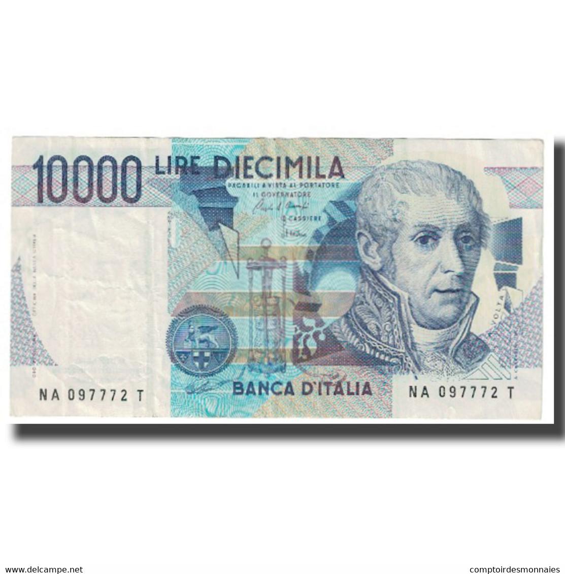 Billet, Italie, 10,000 Lire, 1984, 1984-09-03, KM:112a, TTB - 10000 Lire