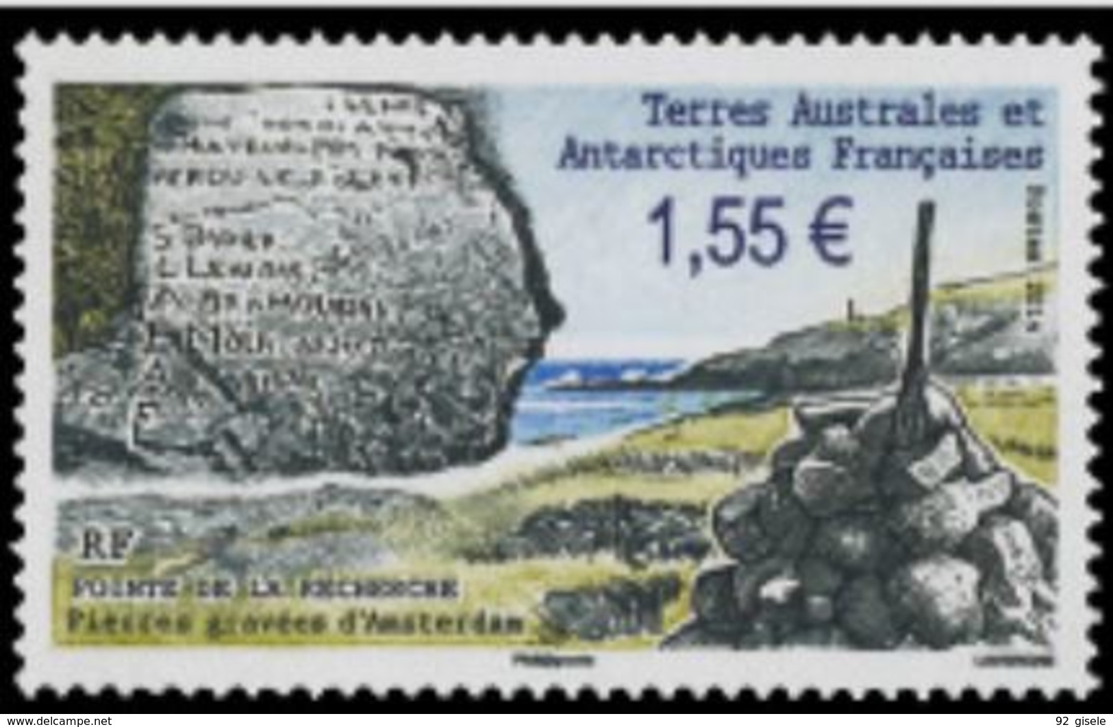 """TAAF YT 692  """" Pierres Gravées """" 2014 Neuf** - Ungebraucht"""