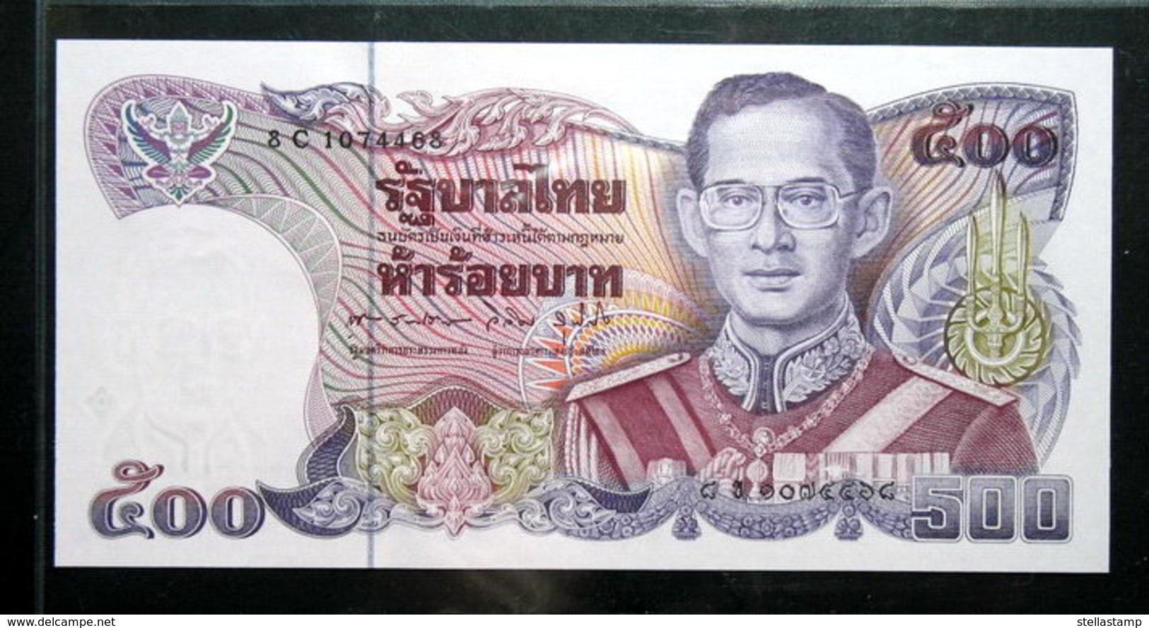Thailand Banknote 500 Baht Series 13 P#91 SIGN#60 UNC - Thailand