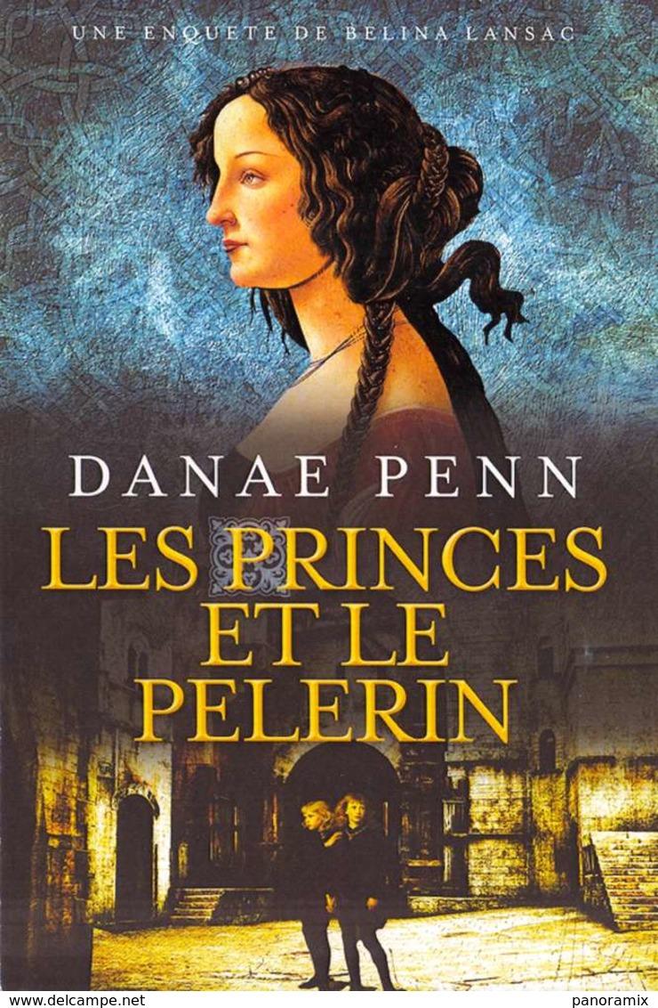 Marque-page °° Nichol Press - Les Princes Et Le Pélerin - D. Penn - Carte 10x15 - Marque-Pages