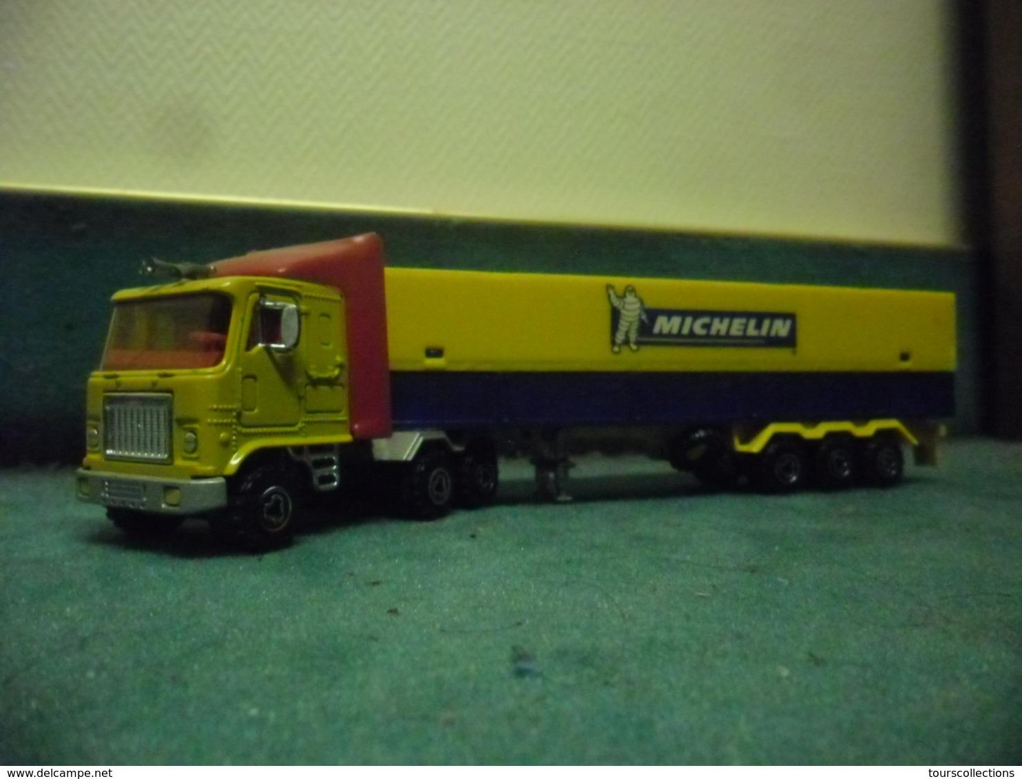 CAMION SEMI REMORQUE MAJORETTE Truck MICHELIN 106 Au 1/60 ° - Majorette