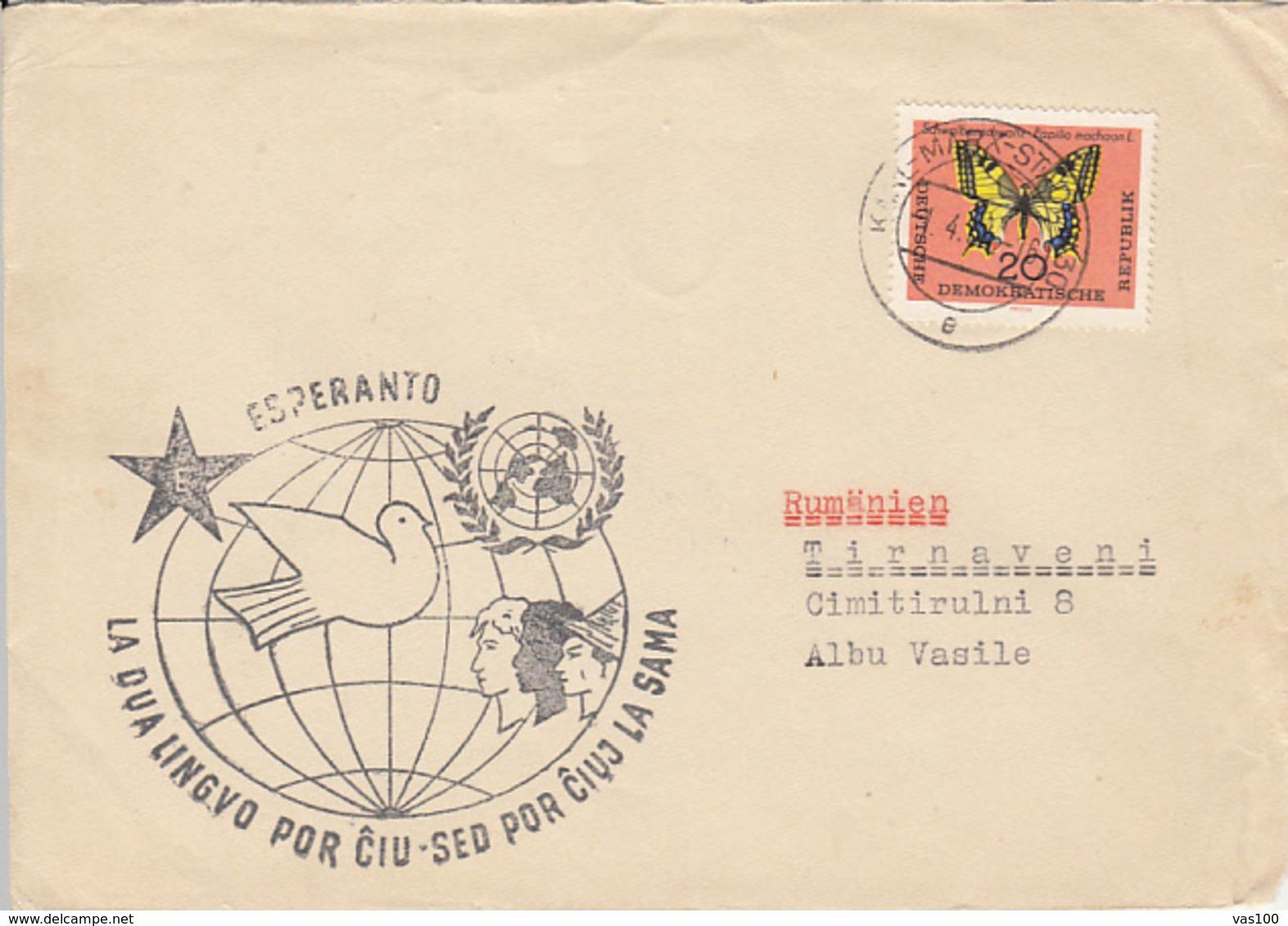 LANGUAGES, ESPERANTO, SPECIAL COVER, 1964, GERMANY - Esperanto