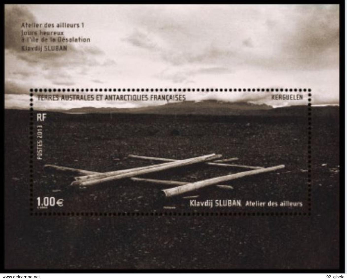 "TAAF Feuillet YT F684 "" Atelier Des Ailleurs "" 2013 Neuf** - Blocs-feuillets"