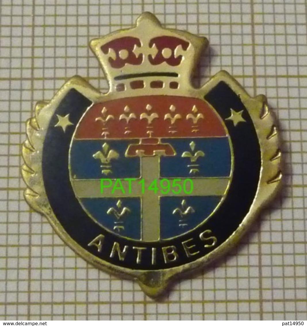 ANTIBES BLASON Dpt 06 ALPES MARITIMES - Città