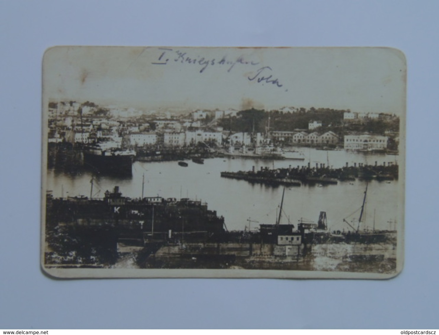 K.U.K. Kriegsmarine Marine Pola Foto Photo SMS 170 1916 - Warships