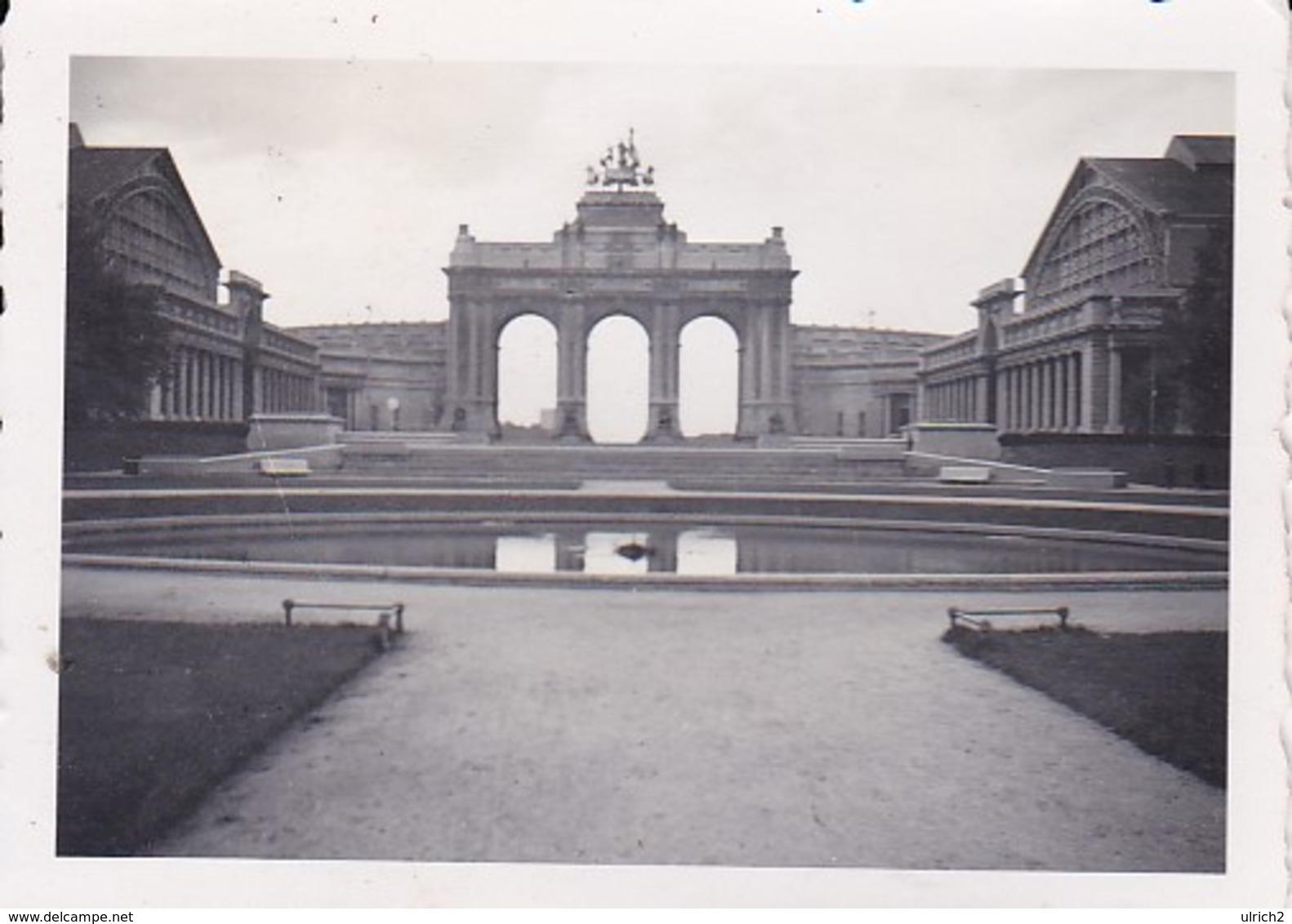 Foto Brüssel - Triumphbogen  - Ca. 1940 - 7,5*5cm  (41776) - Orte