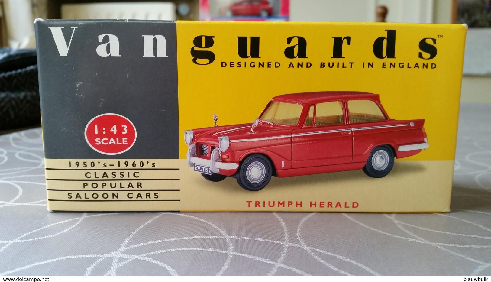 Lledo Vanguards VA5000 Triumph Herald - Cars & 4-wheels