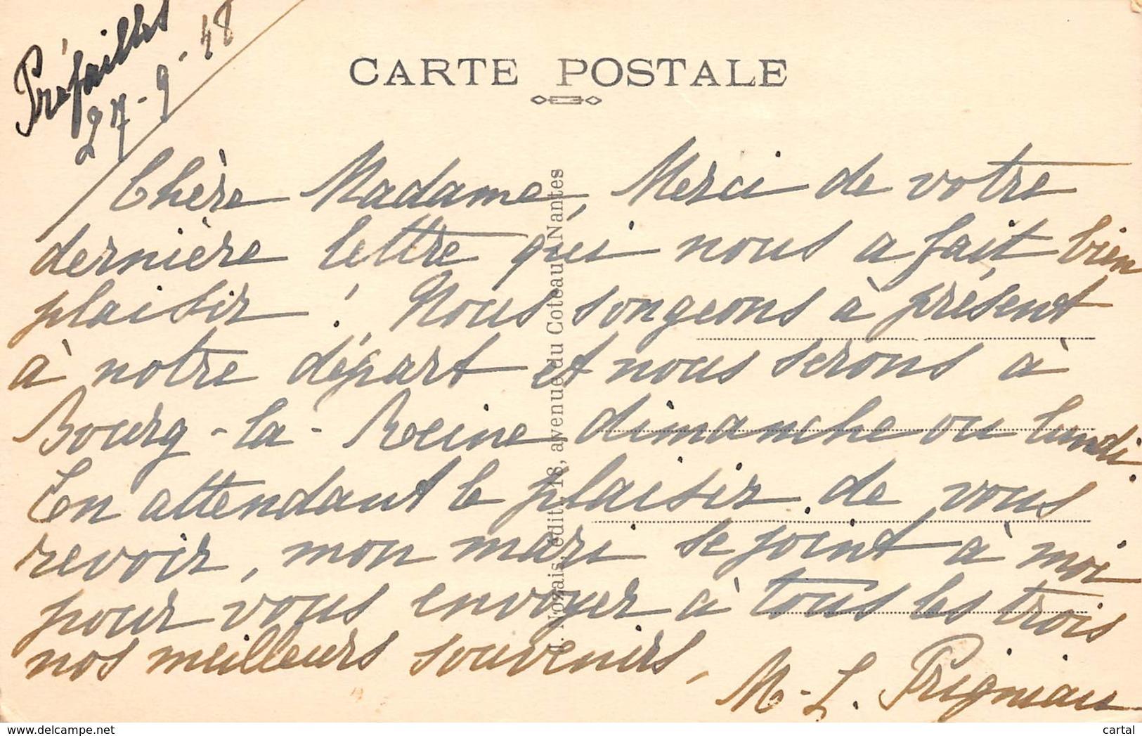 44 - PREFAILLES - Sur Les Rochers Devant La Plage De Quirouard - Préfailles
