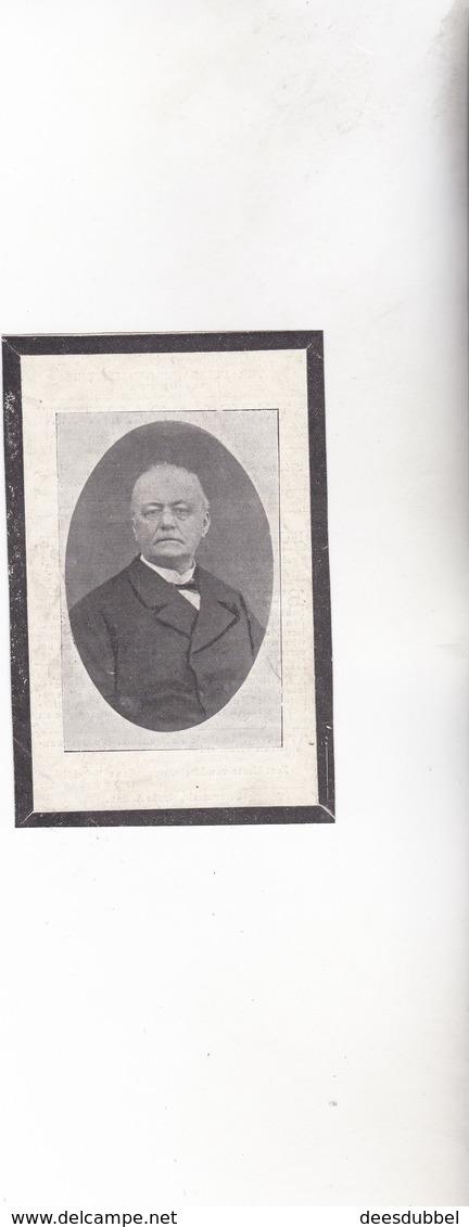 Burgemeester ZWEVEZELE Dokter Victor Pattyn °1833 +1901 (Kantonrechter) E.VANDENBROUCKE - Images Religieuses