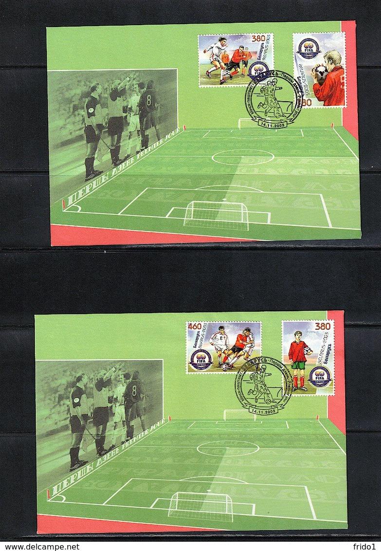 Belarus 2003 100 Years FIFA FDC - Fussball