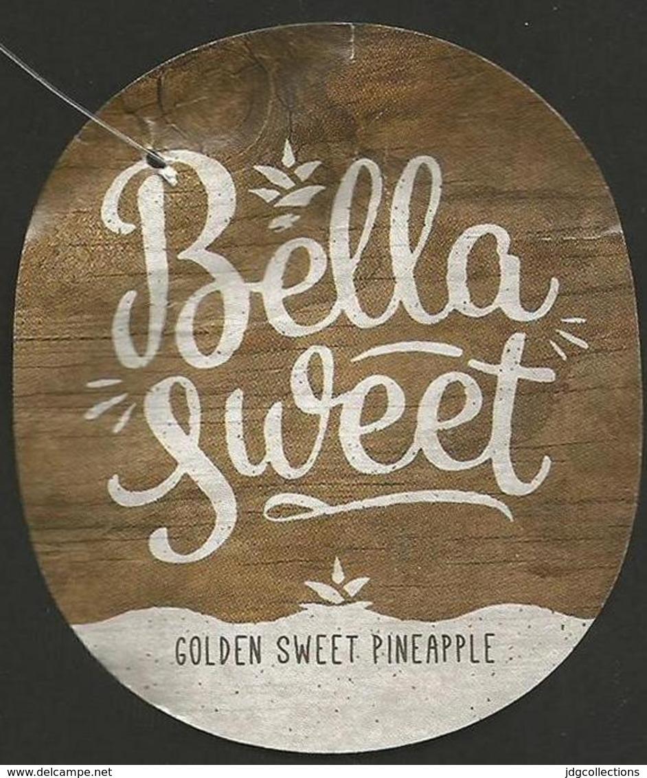 # PINEAPPLE BELLA SWEET Fruit Tag Balise Etiqueta Anhanger Ananas Pina Costa Rica - Fruits & Vegetables