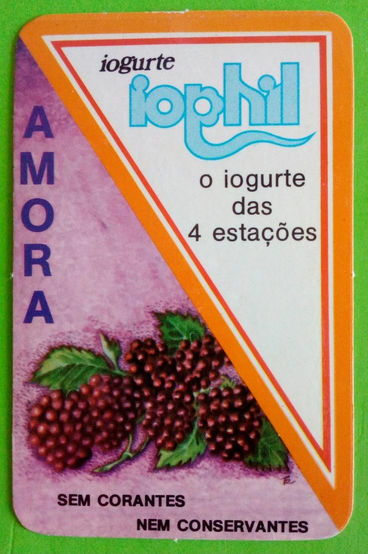 Calendrier De Poche Yaourt Iophil. 1985 - Tamaño Pequeño : 1981-90