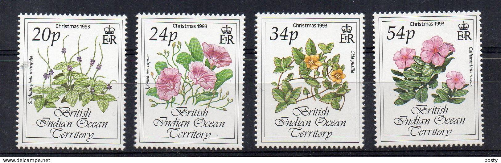 TERRITOIRE BRITANNIQUE DE L'OCEAN INDIEN - BRITISH INDIAN OCEAN TERRITORY - FLEURS - FLOWERS - 1993 - - Territoire Britannique De L'Océan Indien