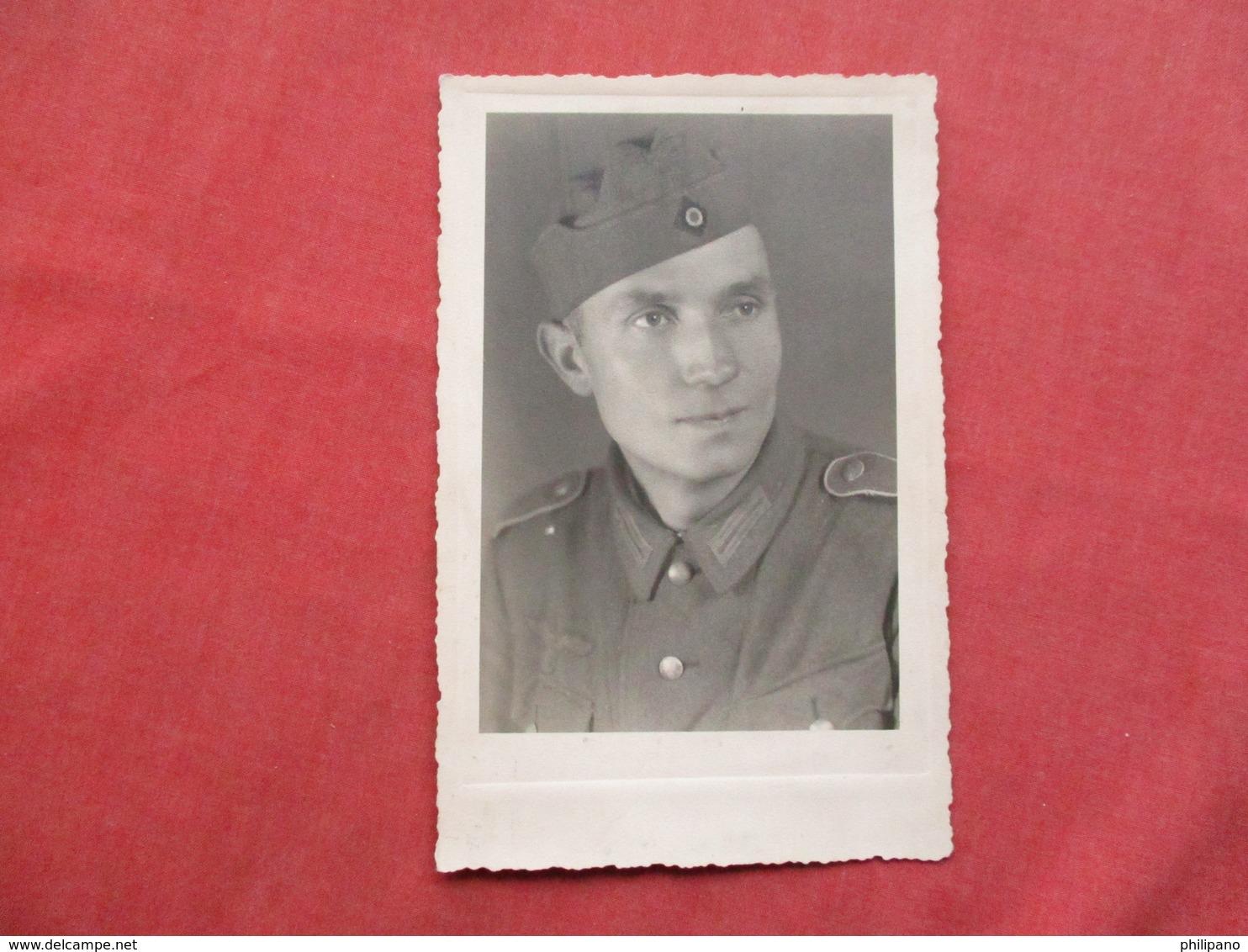 RPPC  German  Army Soldier       Ref 3421 - War 1939-45