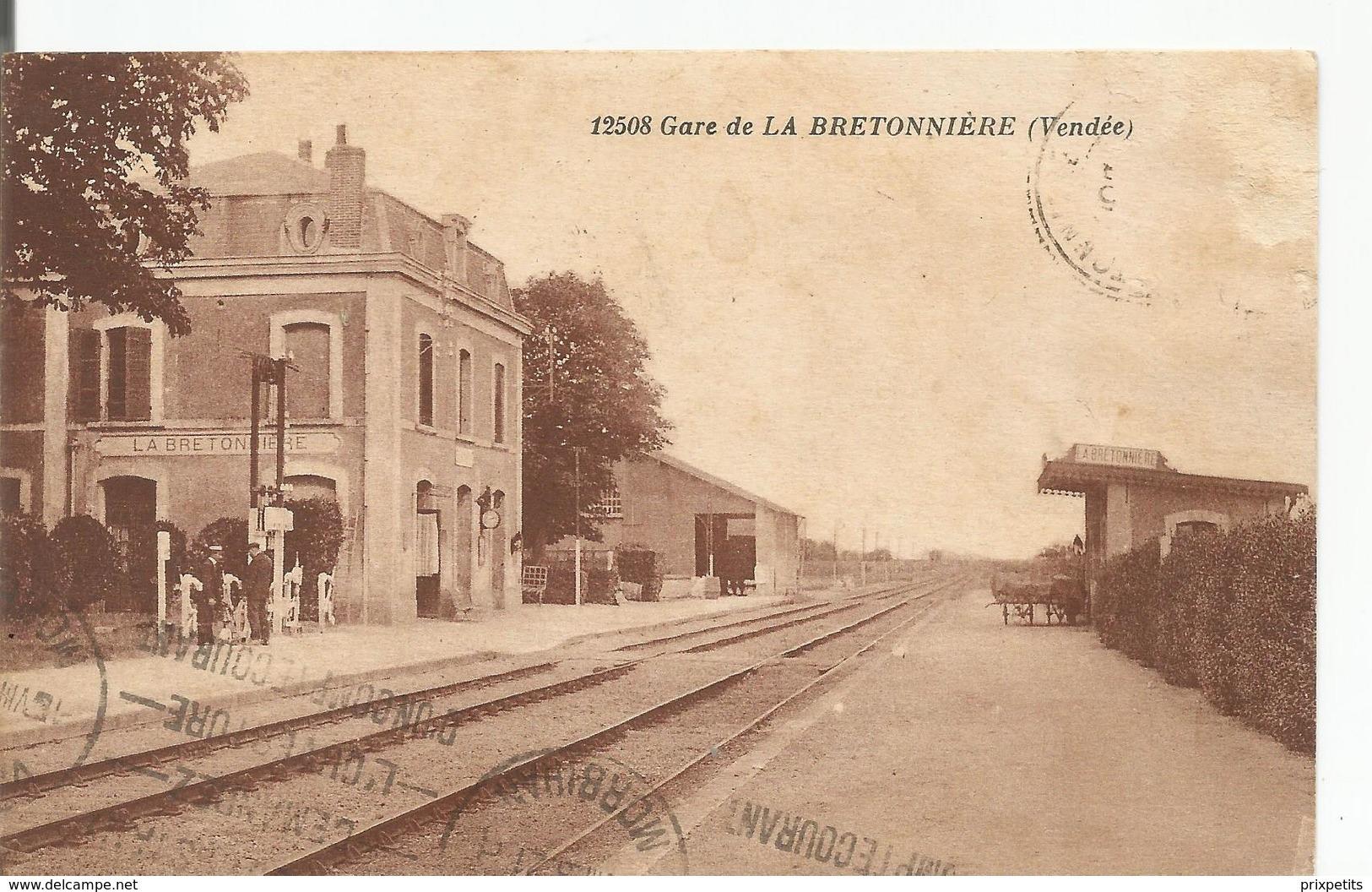 GARE DE LA BRETONNIERE  ****587 - France