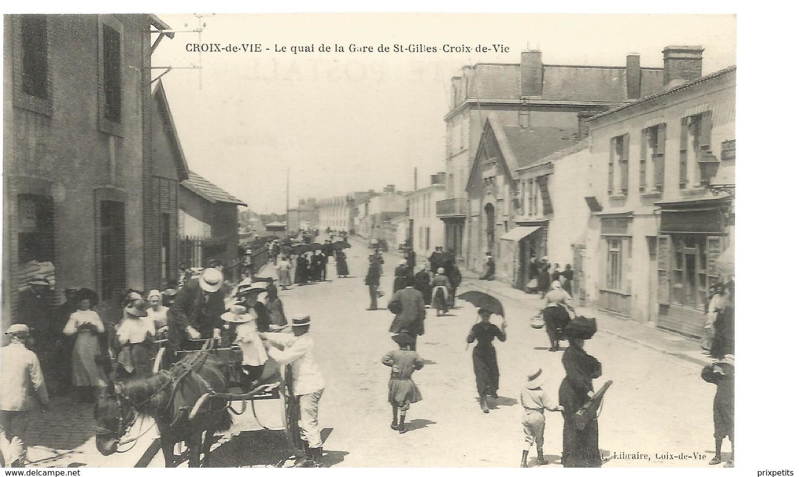 QUAI DE LA GARE ST GILLES CROIX DE VIE ****594 - Saint Gilles Croix De Vie