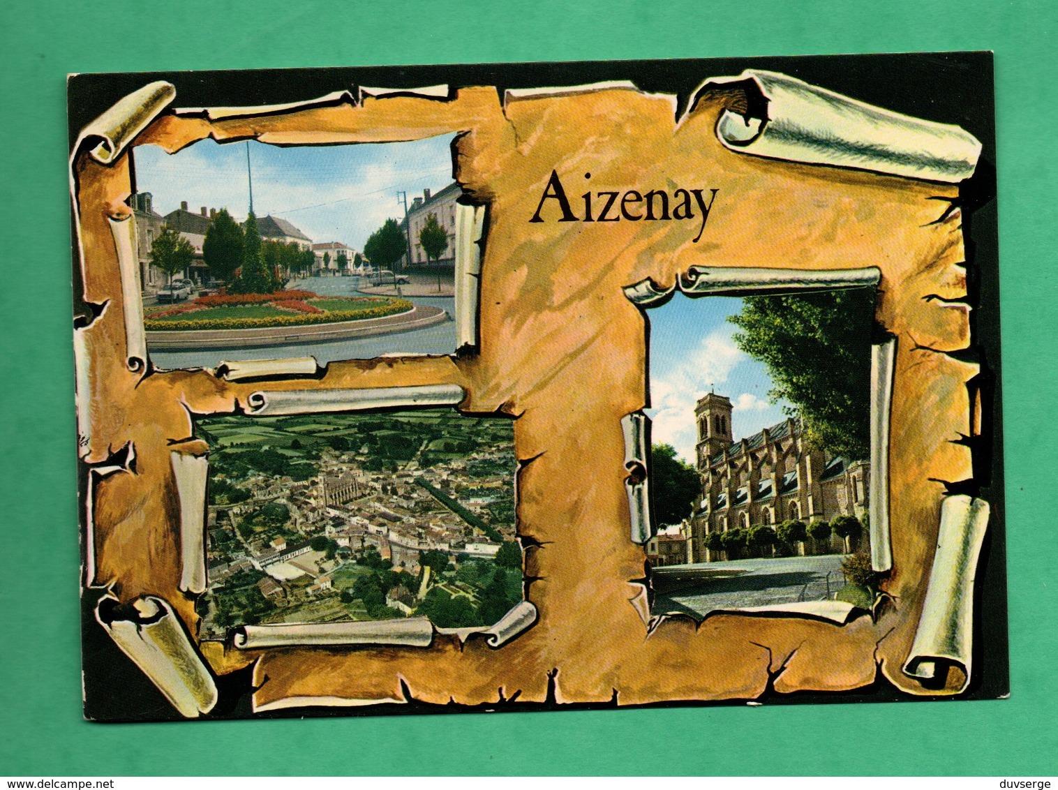85 Vendée Aizenay Carte Postale Multivues - Aizenay