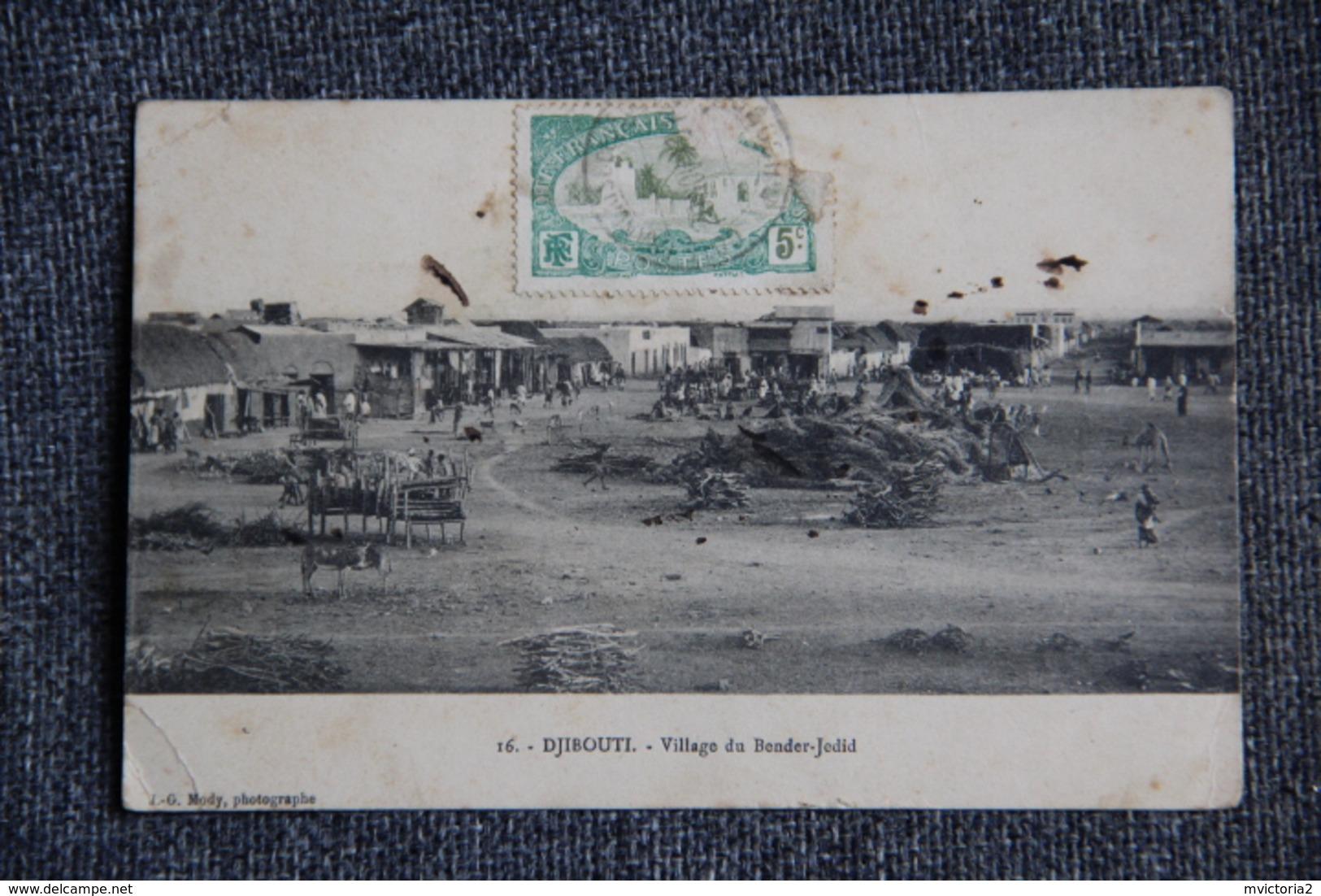 DJIBOUTI - Village Du BENDER JEDID - Djibouti
