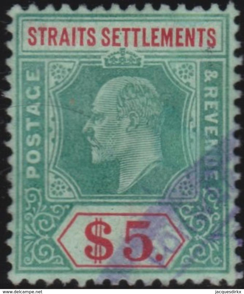 Straits Settlements   .   SG     .    167  Fiscal       .      O         .     Cancelled      .   /    .  Gebruikt - Straits Settlements