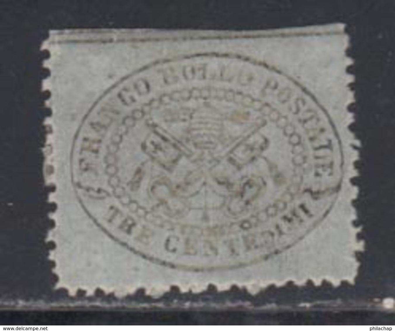 Etats Pontificaux 1868 Yvert 20 * B Charniere(s) - Etats Pontificaux
