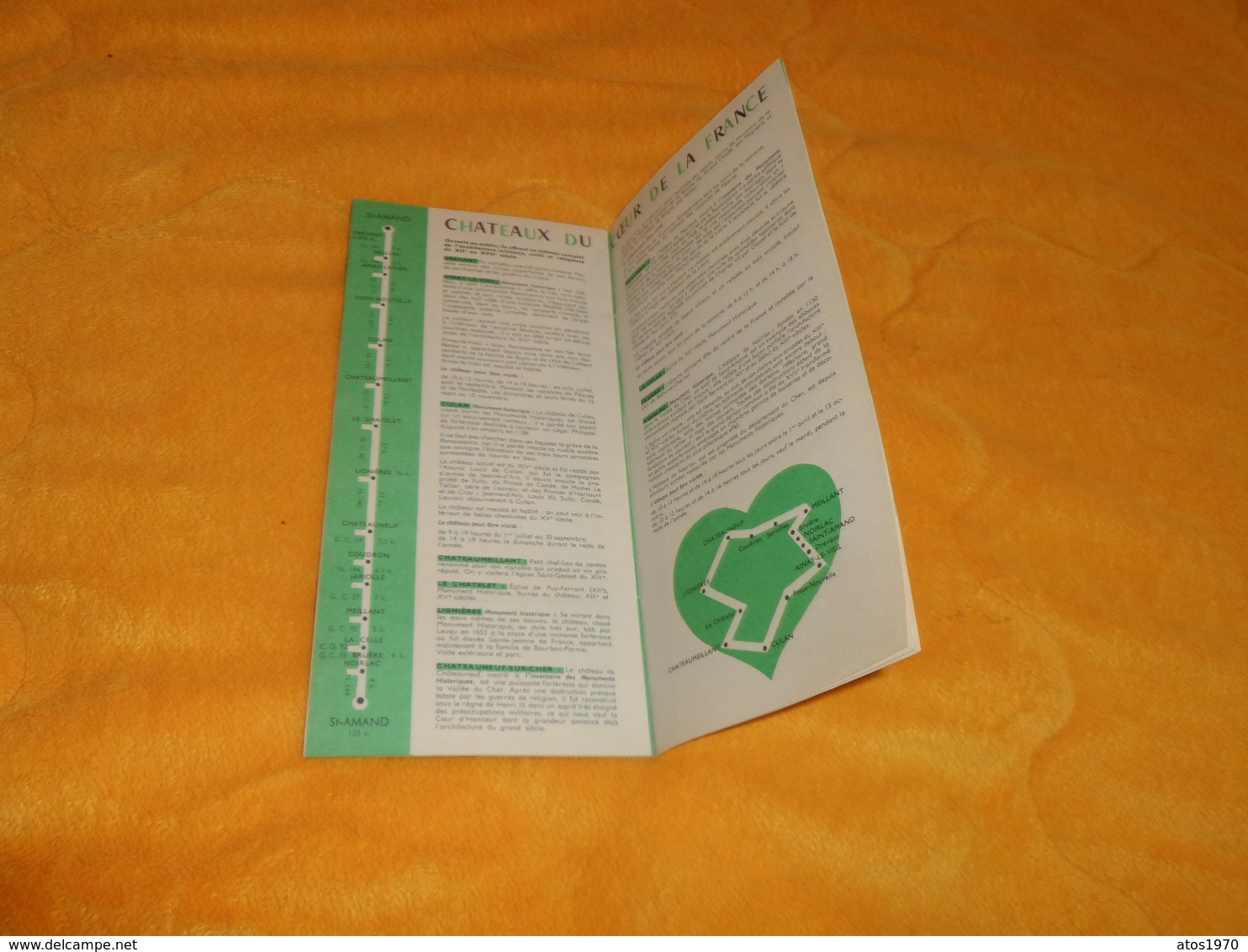 LIVRET DE 24 PAGES DATE ?.../ FRANCE BERRY LE CHER... - Tourism Brochures