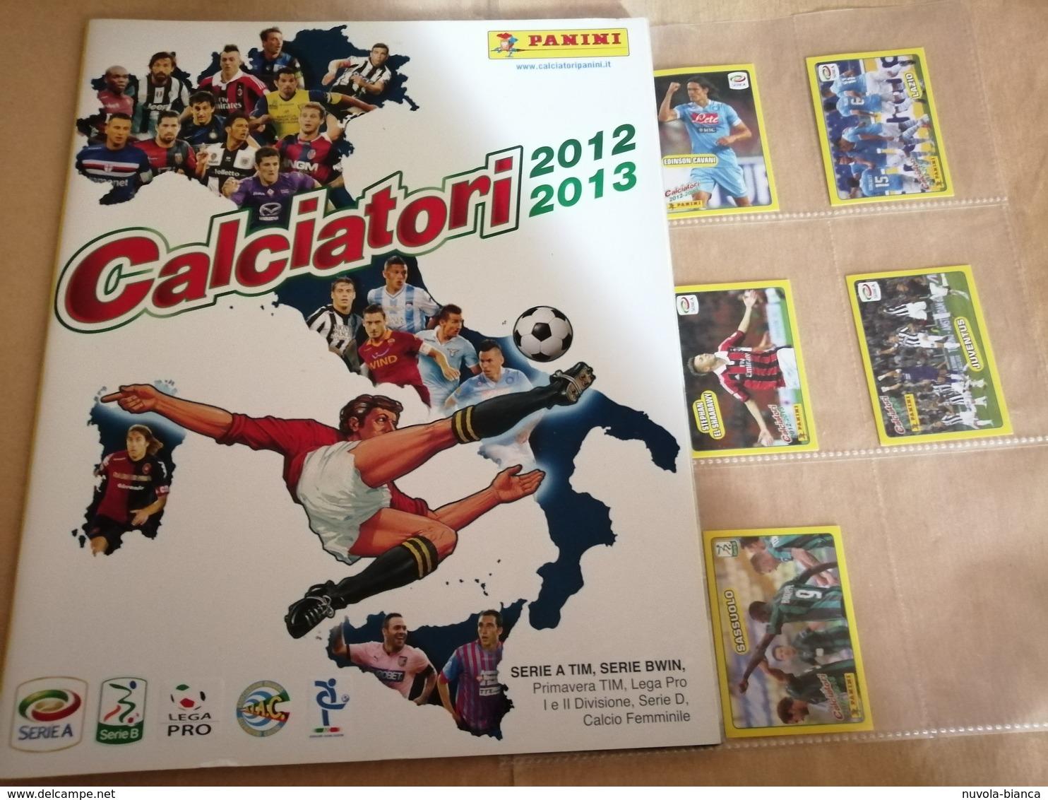 Calciatori 2012/13, Album Vuoto+V1al V8 Da Edicola Panini Modena - Panini
