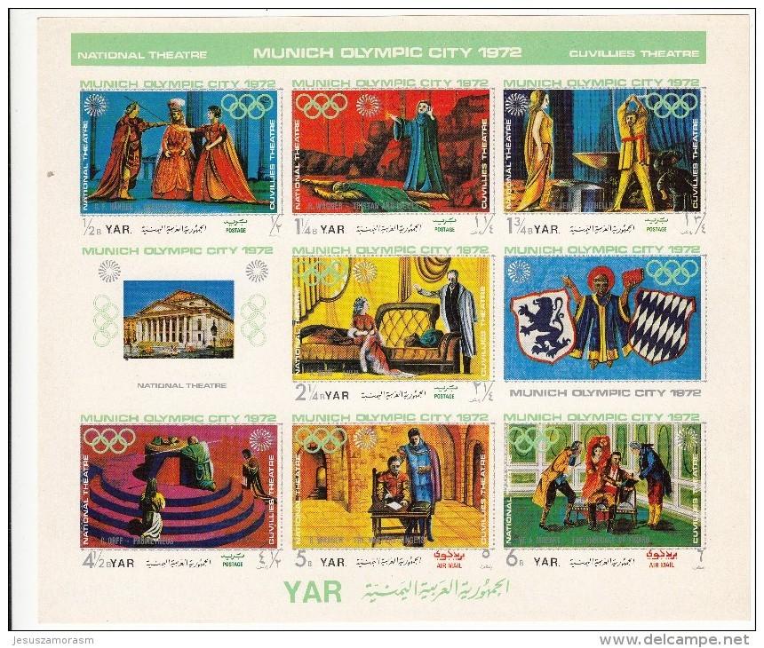 Yemen Nº Michel 1319 Al 1325 - Yemen