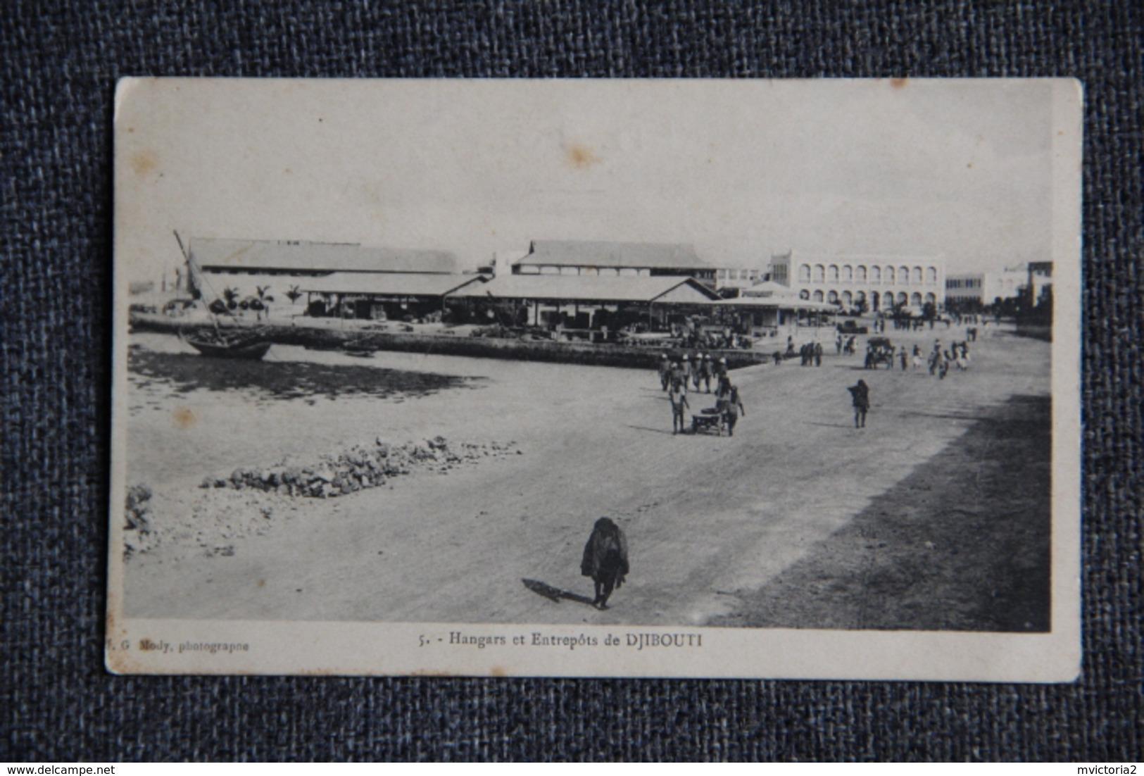 Hangars Et Entrepôts De DJIBOUTI. - Djibouti
