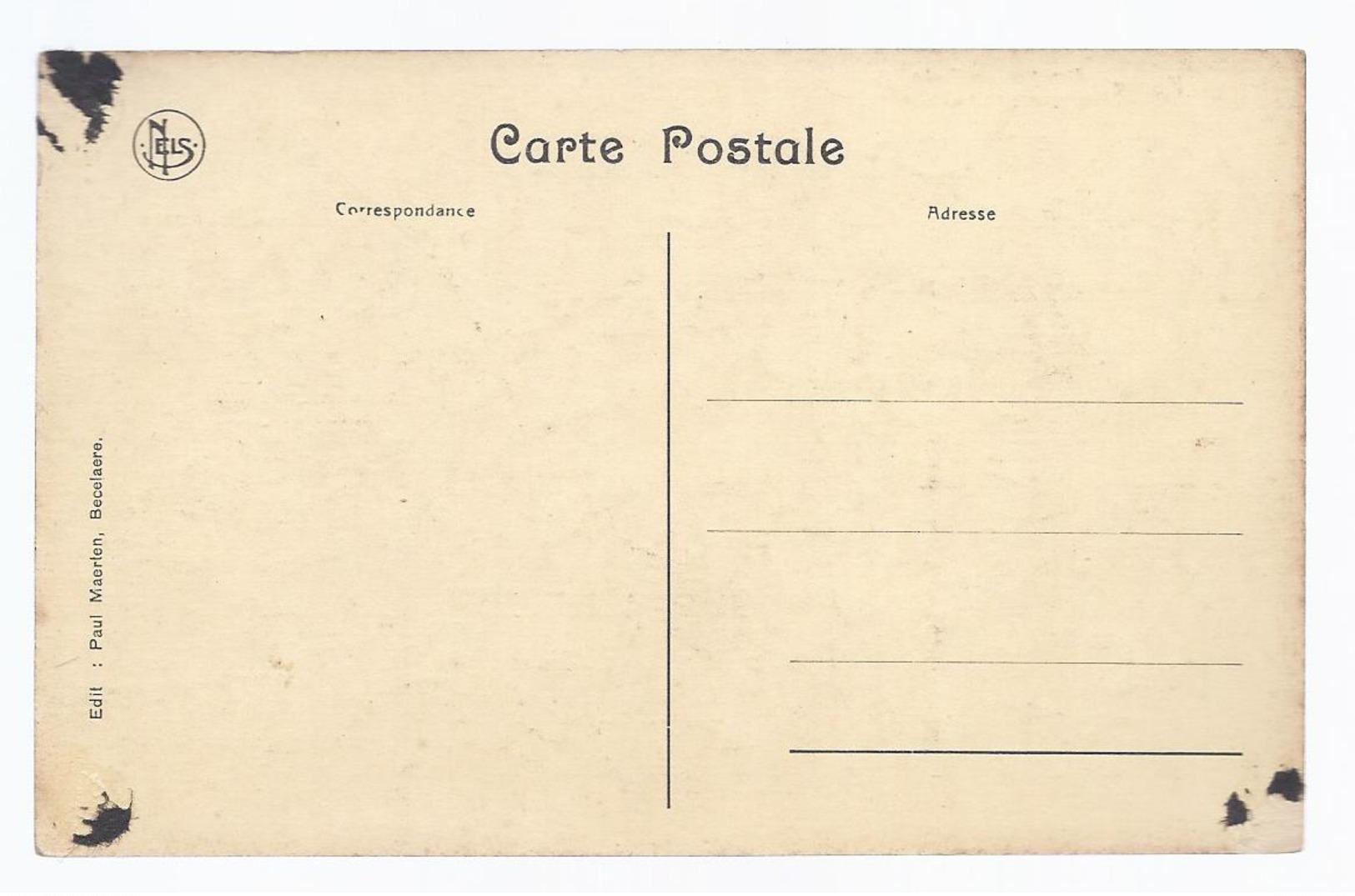 HOOGLEDE HOOGE CIMETIERE DES TANKS CEMETERY OF THE TANKS 1914 1918 EDIT. PAUL MAERTEN BECELAERE - Hooglede