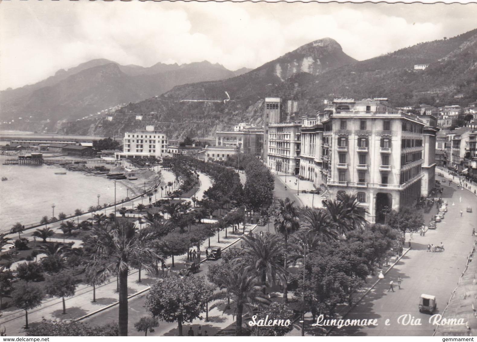 SALERNO - LUNGOMARE E VIA ROMA - Salerno