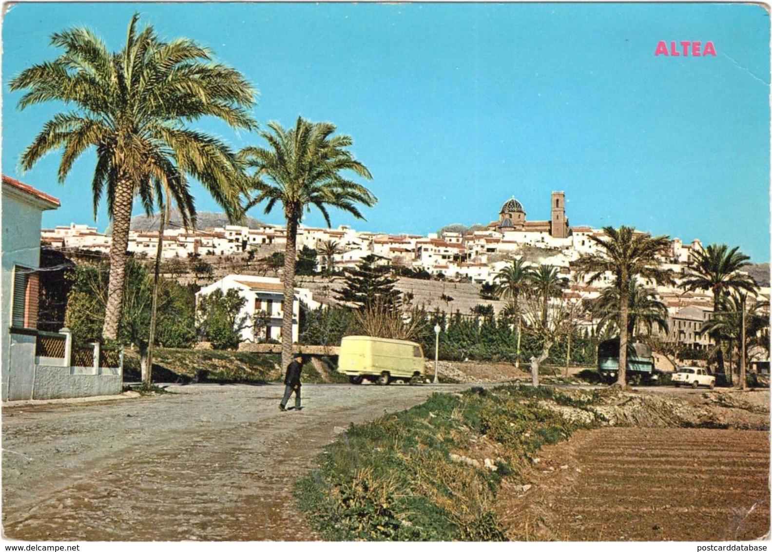 Altea Alicante - Vista Panoramica - Spanien
